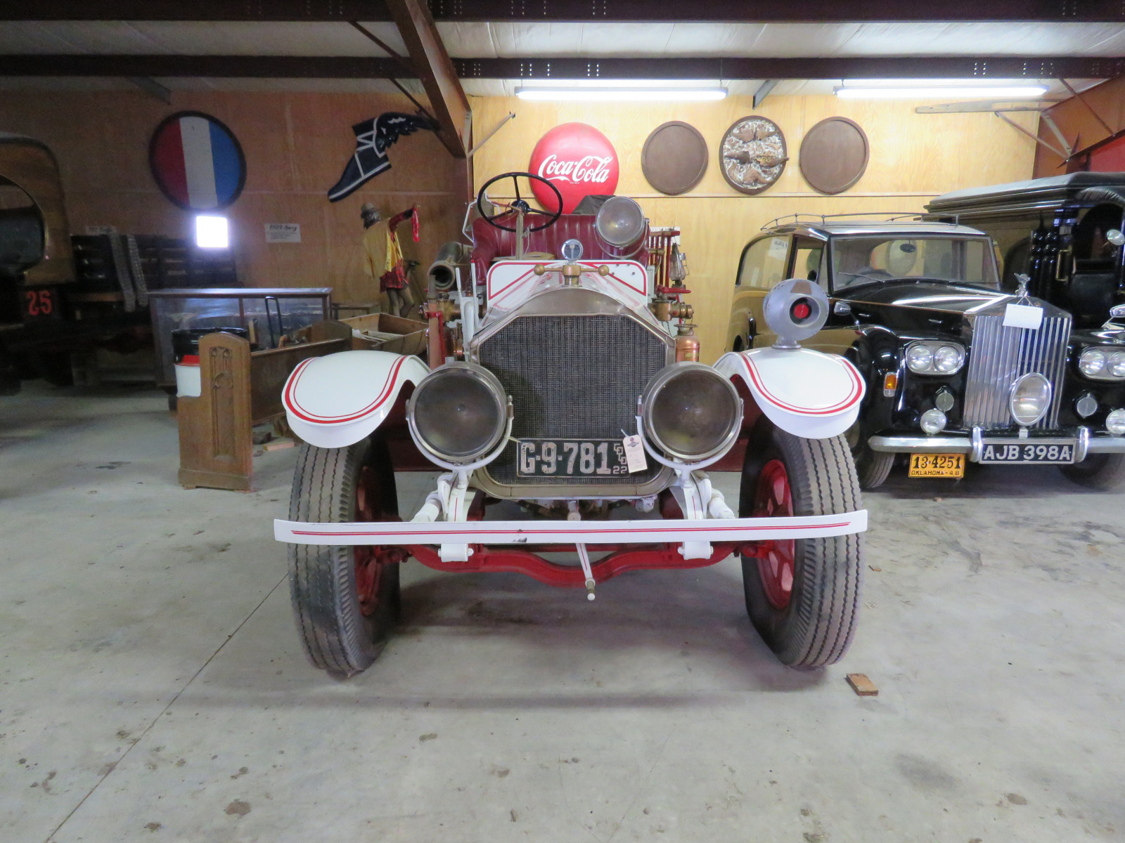 1922 American LaFrance Fire Truck 4108 - Image 2