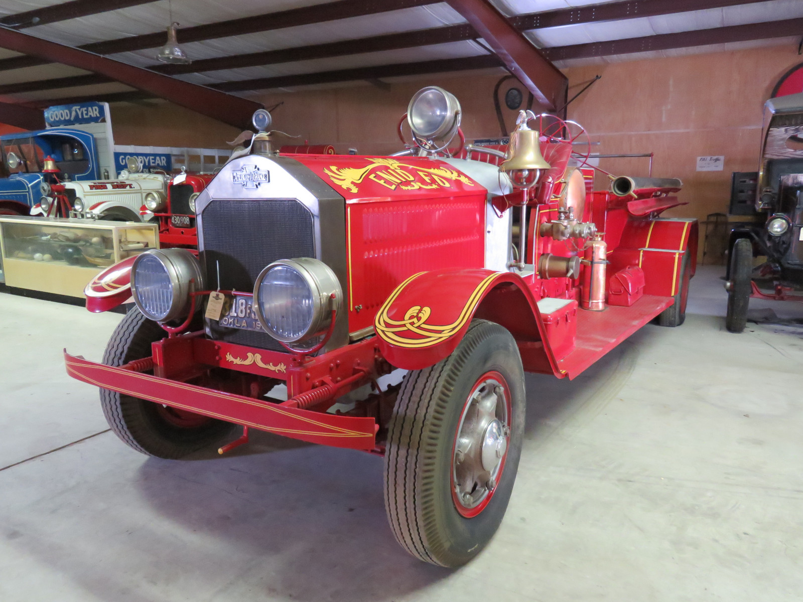 1927 American LaFrance Fire Truck 6107 - Image 3