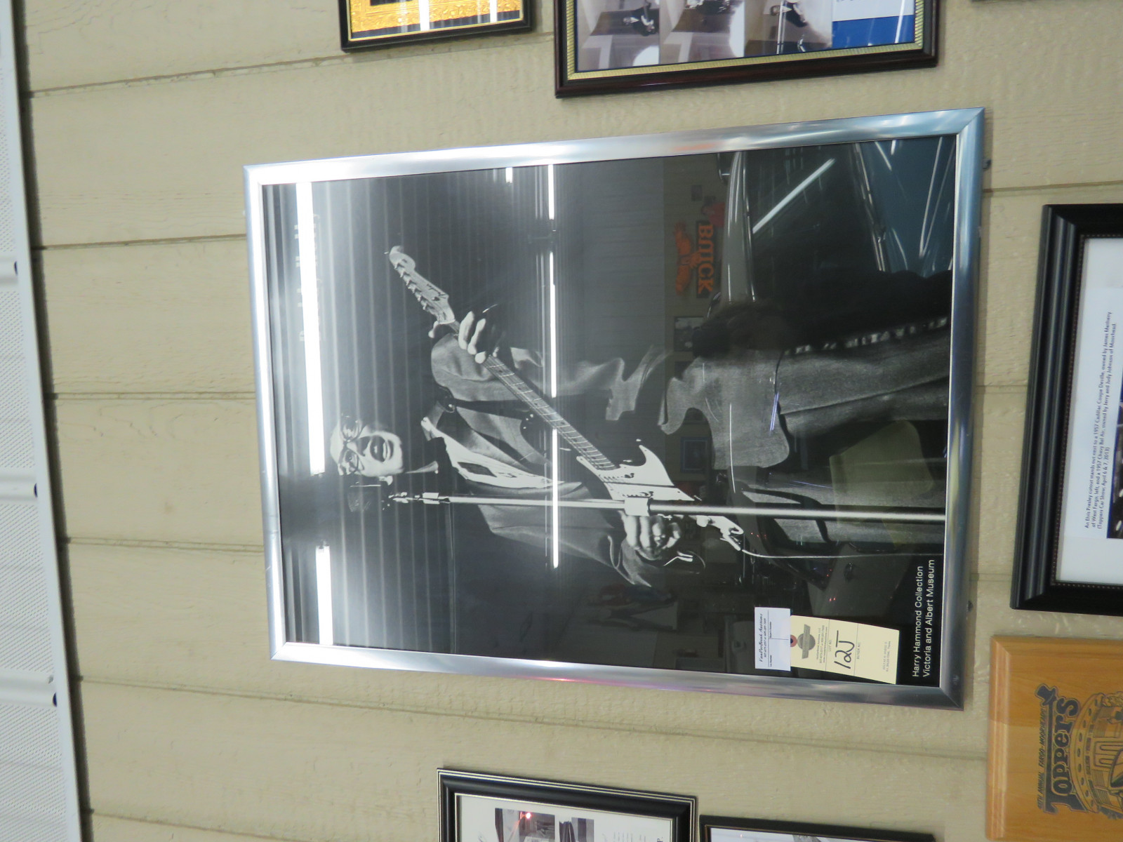 Framed Buddy Holly Picture - Image 1