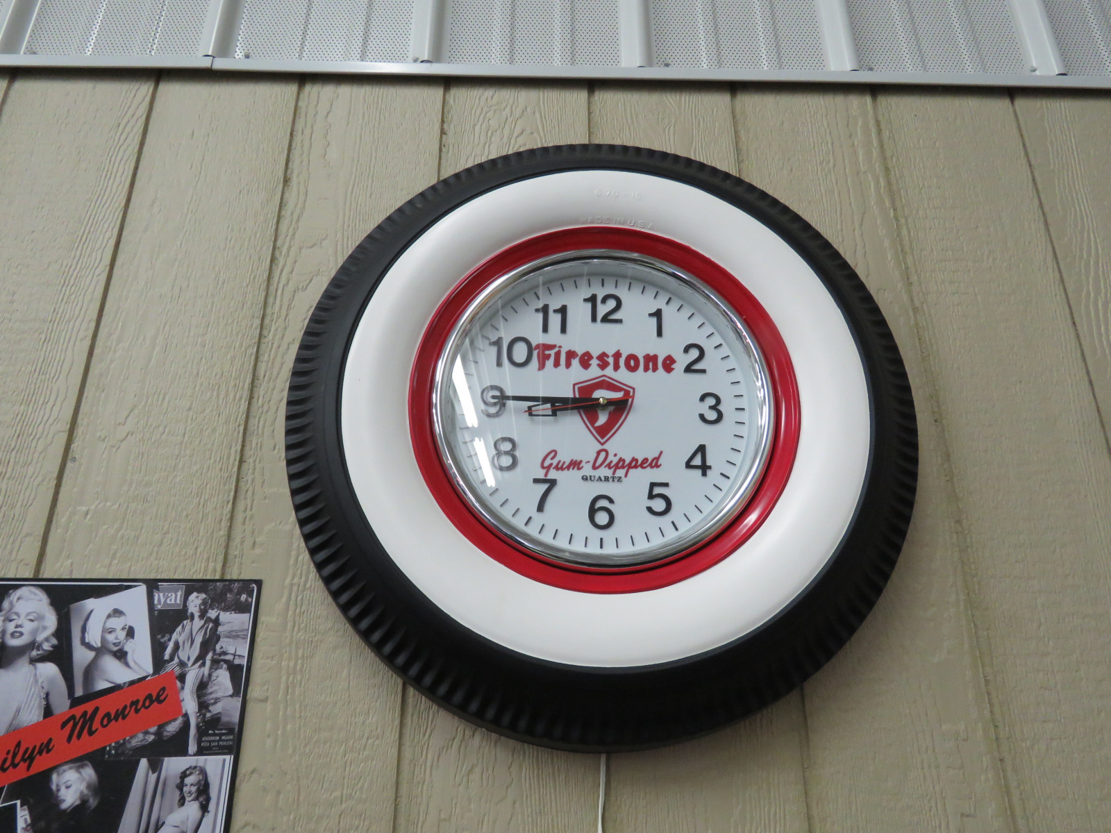 Firestone Tire Clock - Image 1