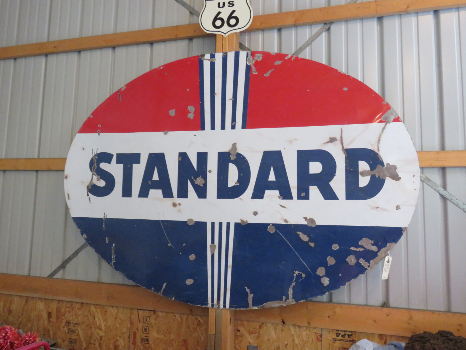 Standard Oil Porcelain Sign - Image 1