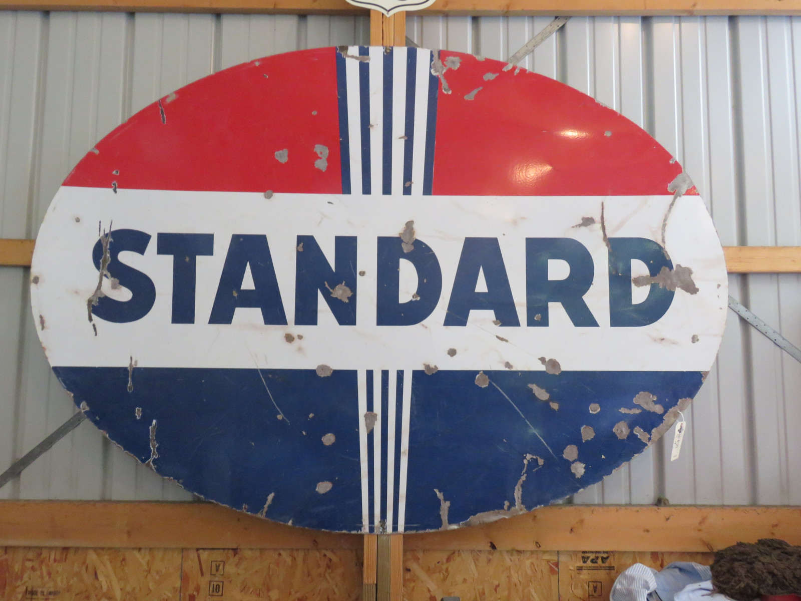 Standard Oil Porcelain Sign - Image 2