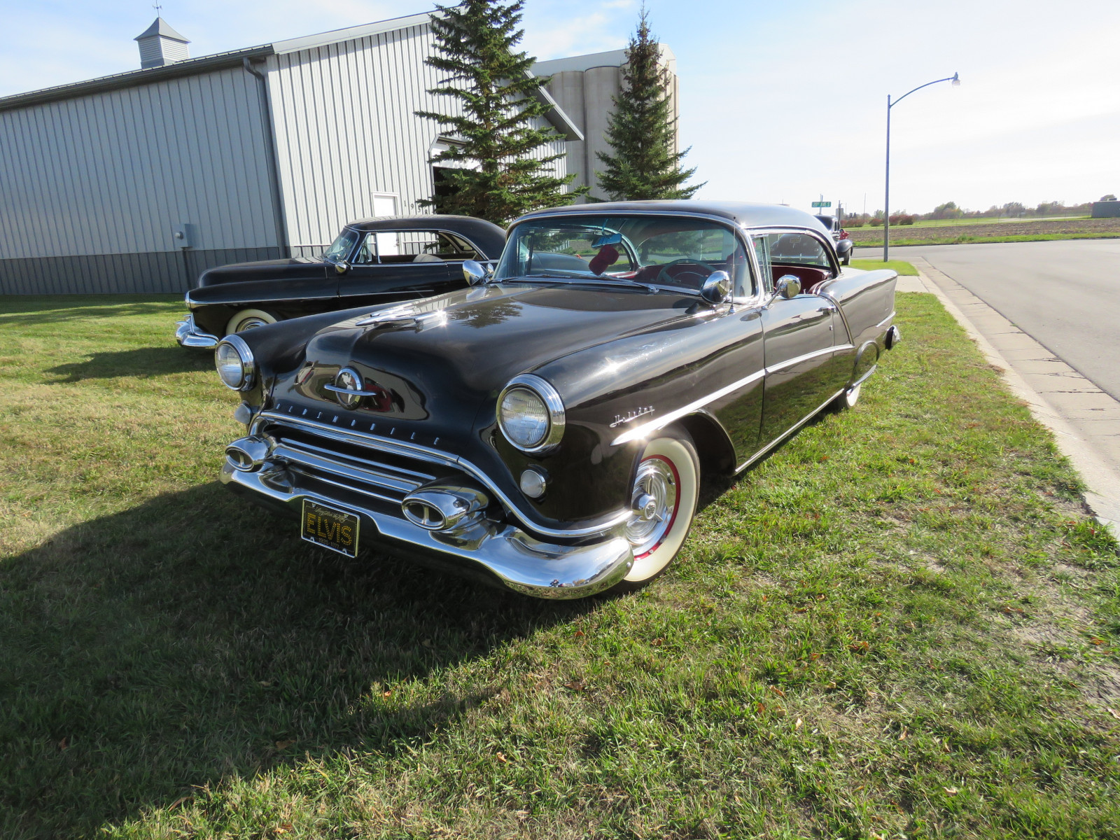 1954 Oldsmobile 98 Holiday 2dr HT - Image 3