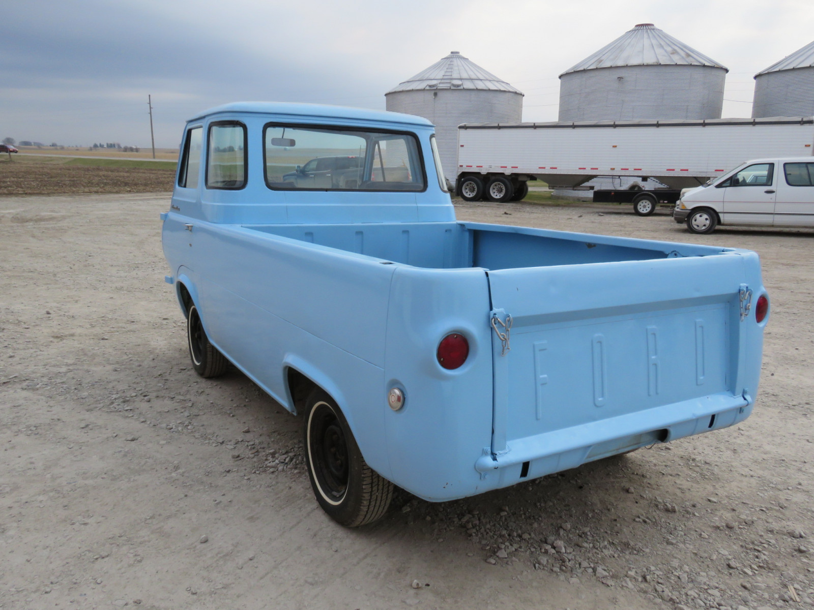 Lot 136g 1961 Ford Econoline Pickup Vanderbrink Auctions Truck Image 4