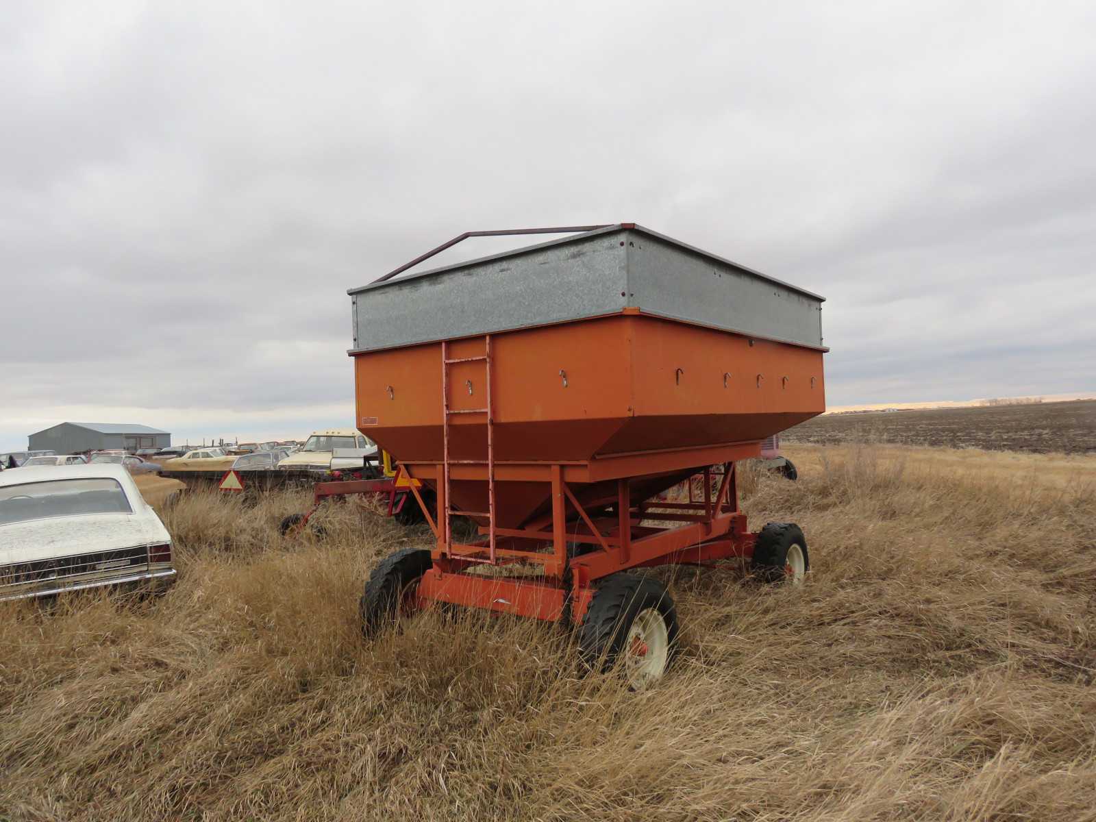 Gravity Box Grain Wagon - Image 1