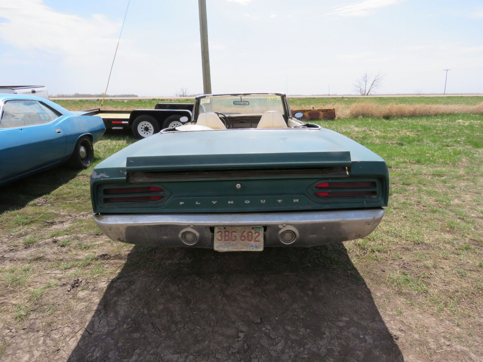 RARE 1970 Plymouth Road Runner Convertible - Image 5