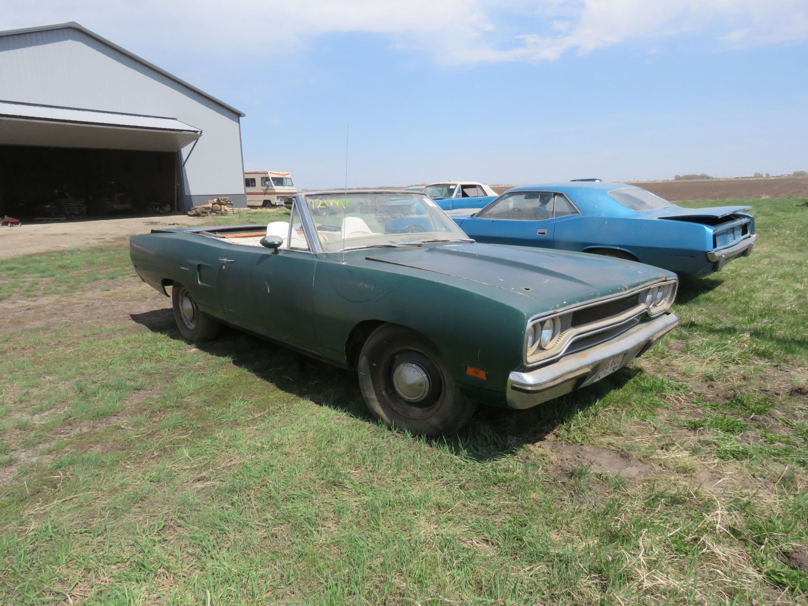 RARE 1970 Plymouth Road Runner Convertible - Image 8