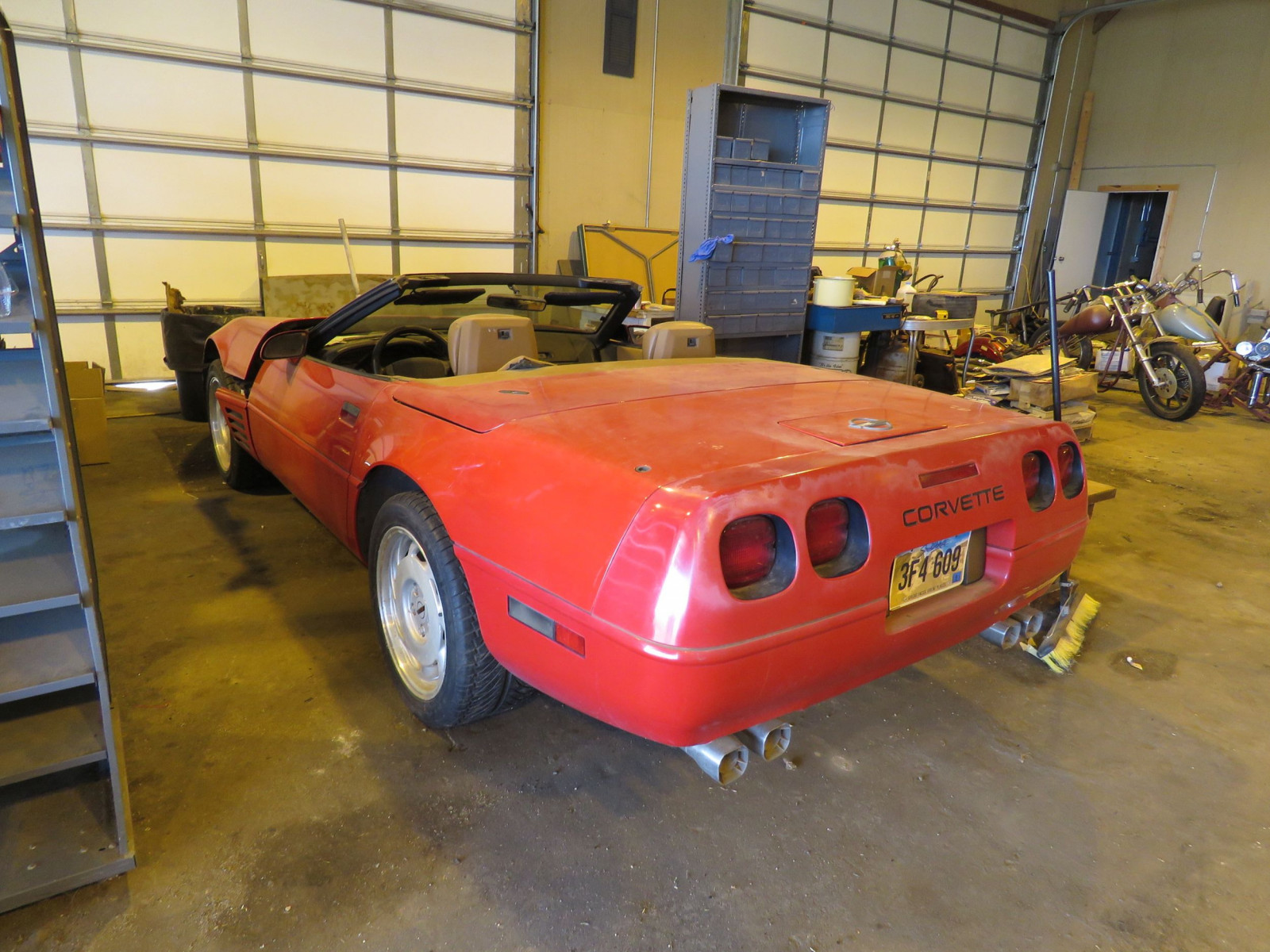1991 Chevrolet Corvette Convertible - Image 3