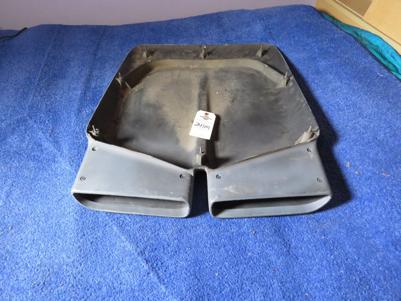 1972 Dodge Dart Dual Snorkel Hood Scoop Original Parts Number 3573698 - Image 2