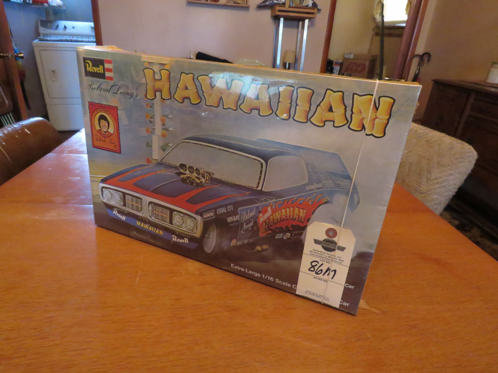 1996 Revell NIB 1/16 Scale Model - Roland Leong's The Hawaiian Drag Car - Image 2