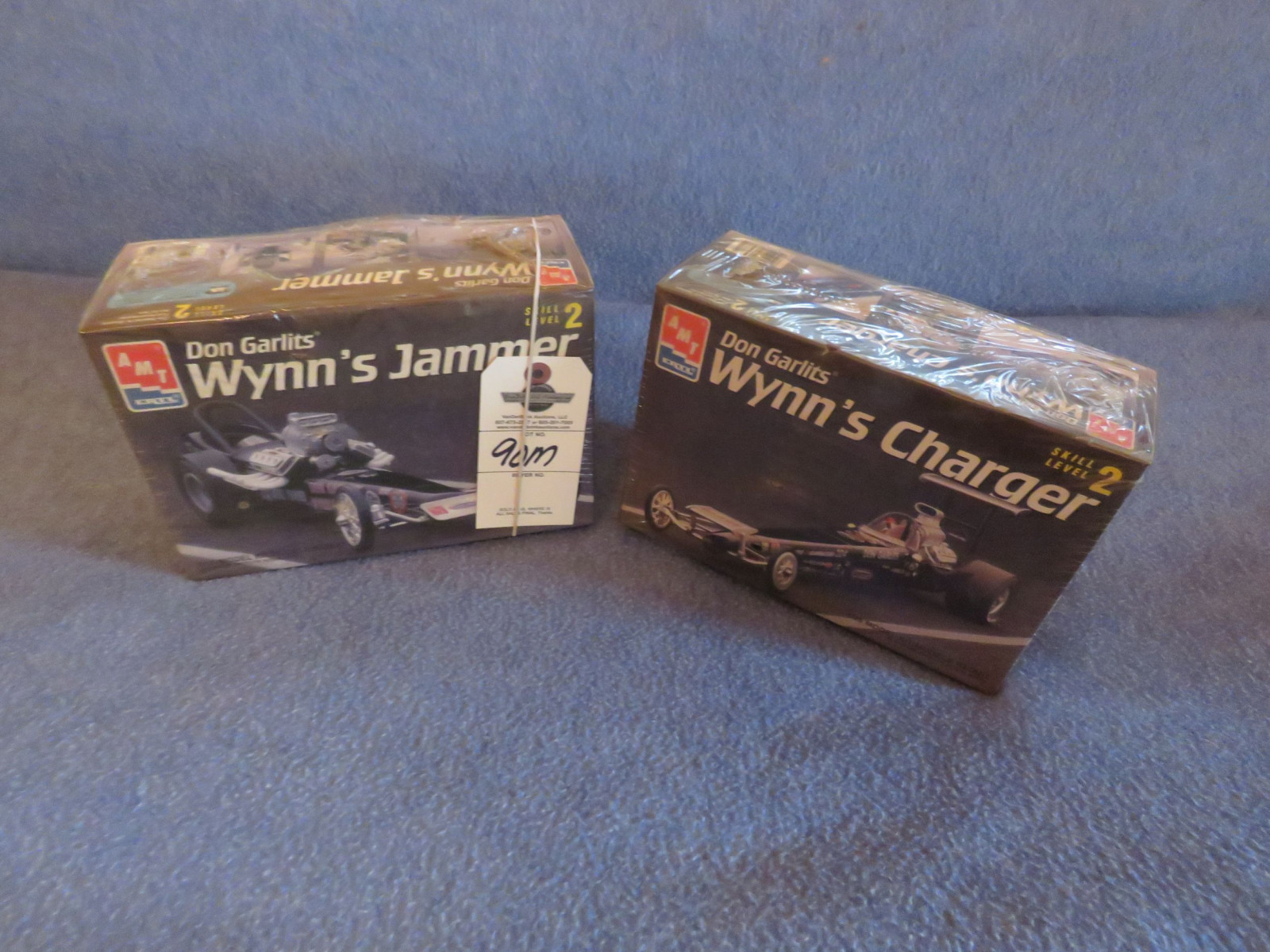 2 Don Garlits Dragster Models NIB - Image 1
