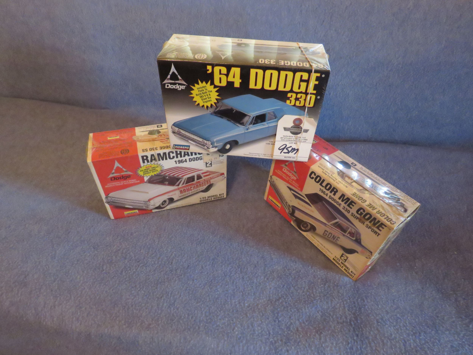3 NIB Dodge Models - Image 1