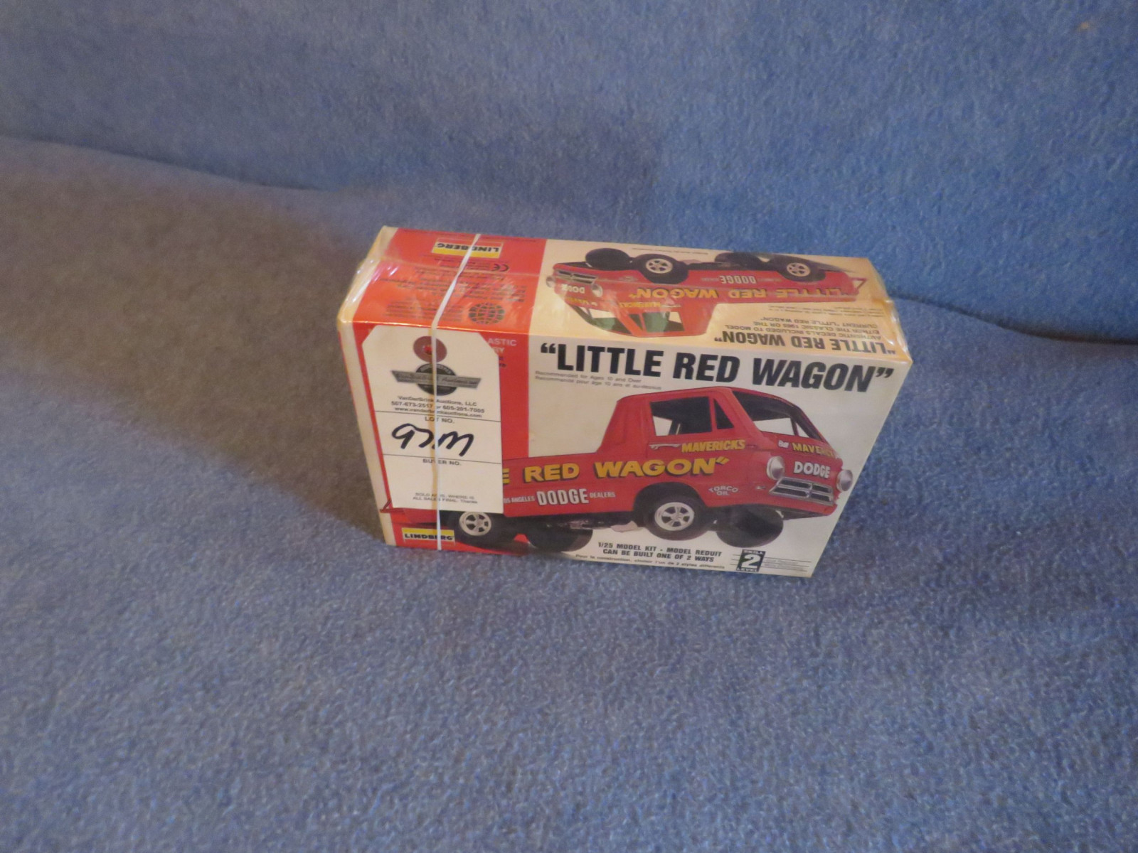Lindberg Little Red Wagon 1/25th Scale Model NIB - Image 1