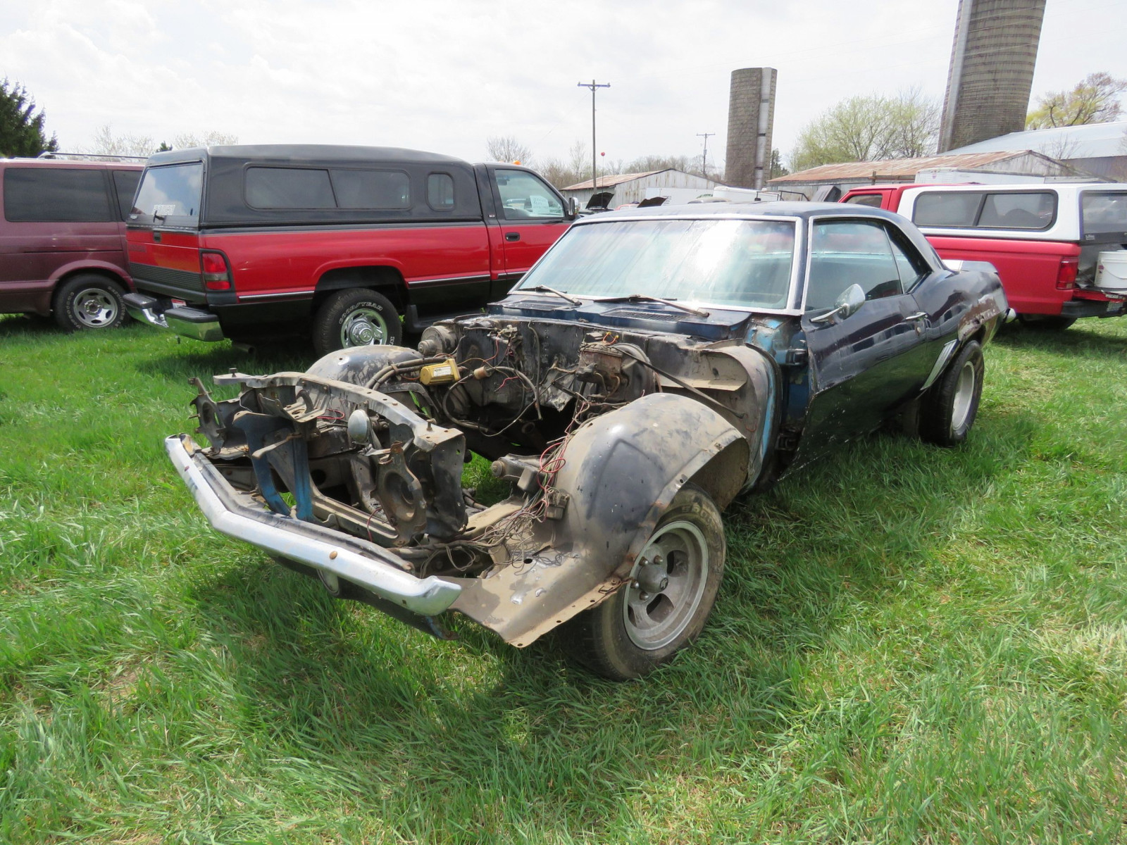 1969 Chevrolet Z28 Camaro For Restore - Image 1