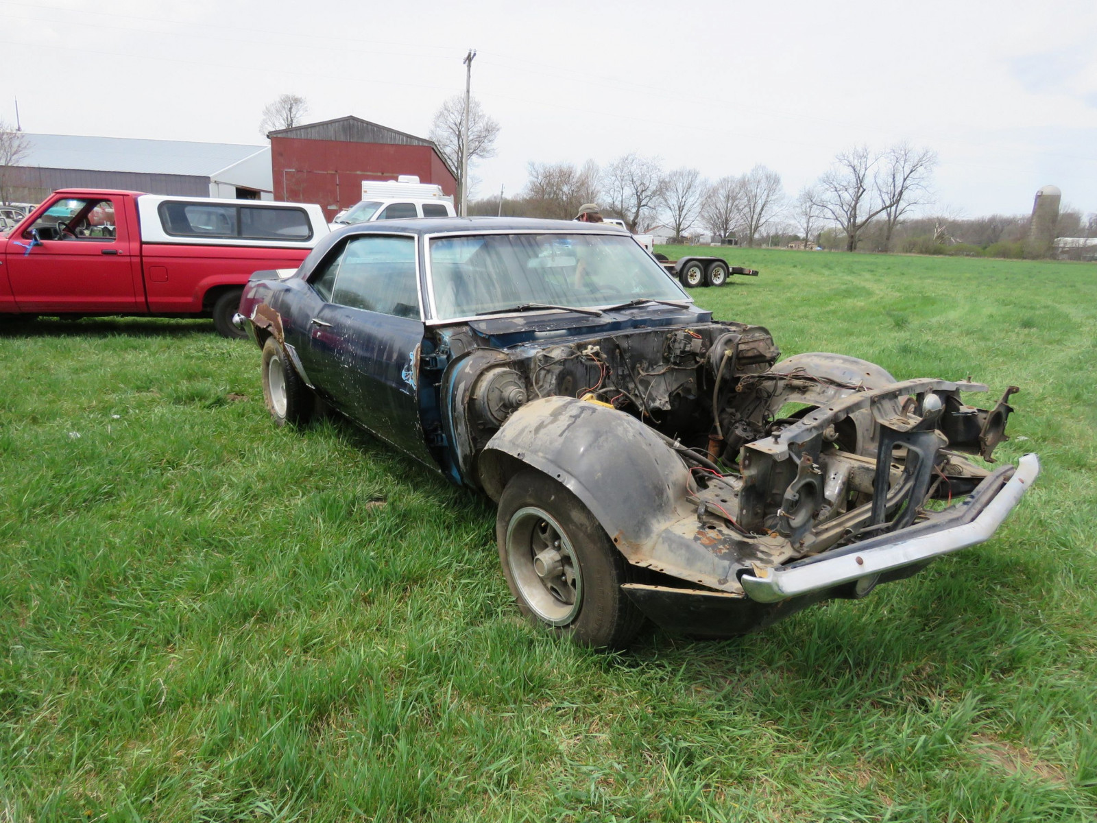 1969 Chevrolet Z28 Camaro For Restore - Image 3