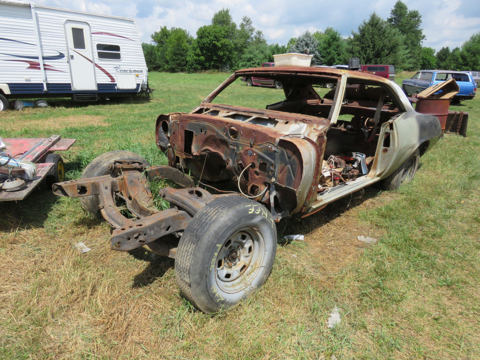 1969 Chevrolet Camaro Body for Restore - Image 1