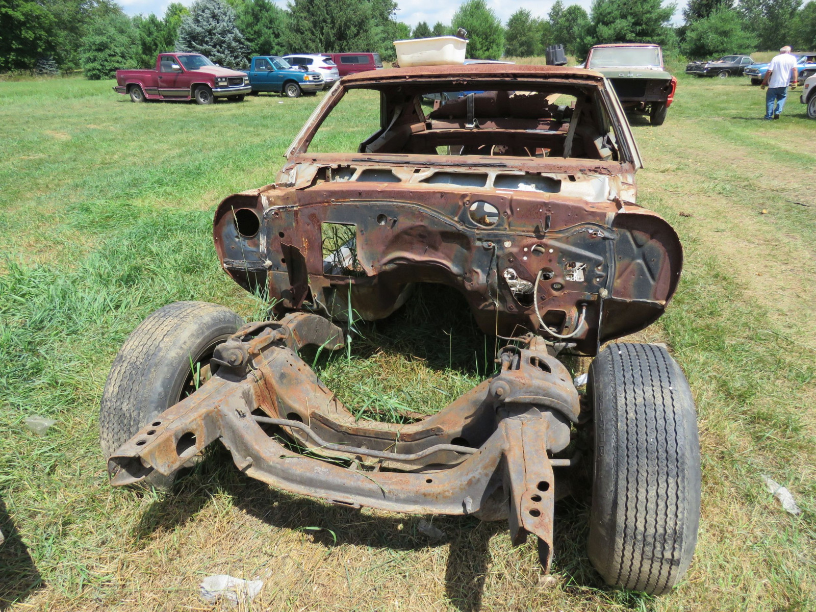 1969 Chevrolet Camaro Body for Restore - Image 2