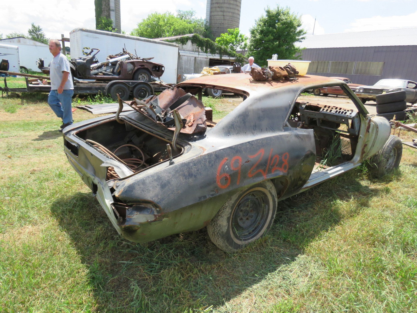 1969 Chevrolet Camaro Body for Restore - Image 4
