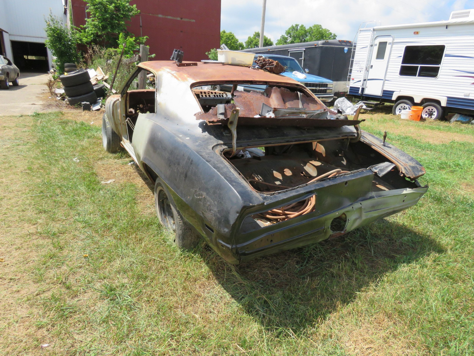1969 Chevrolet Camaro Body for Restore - Image 5