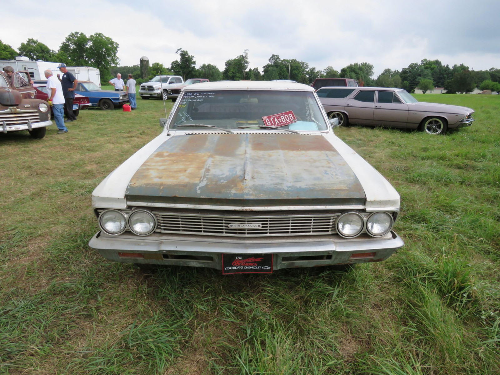 Lot 45v 1966 Chevrolet El Camino Vanderbrink Auctions Image 2