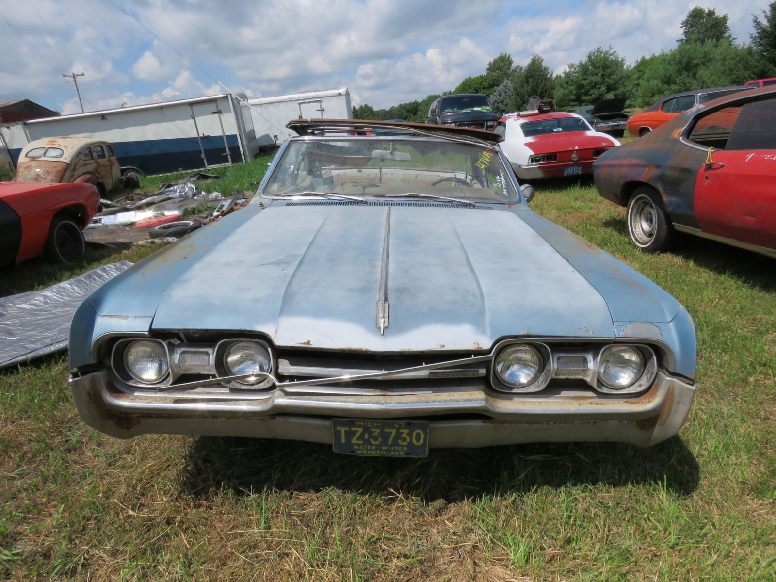 1967 Oldsmobile Cutlas Convertible Parts Car - Image 2