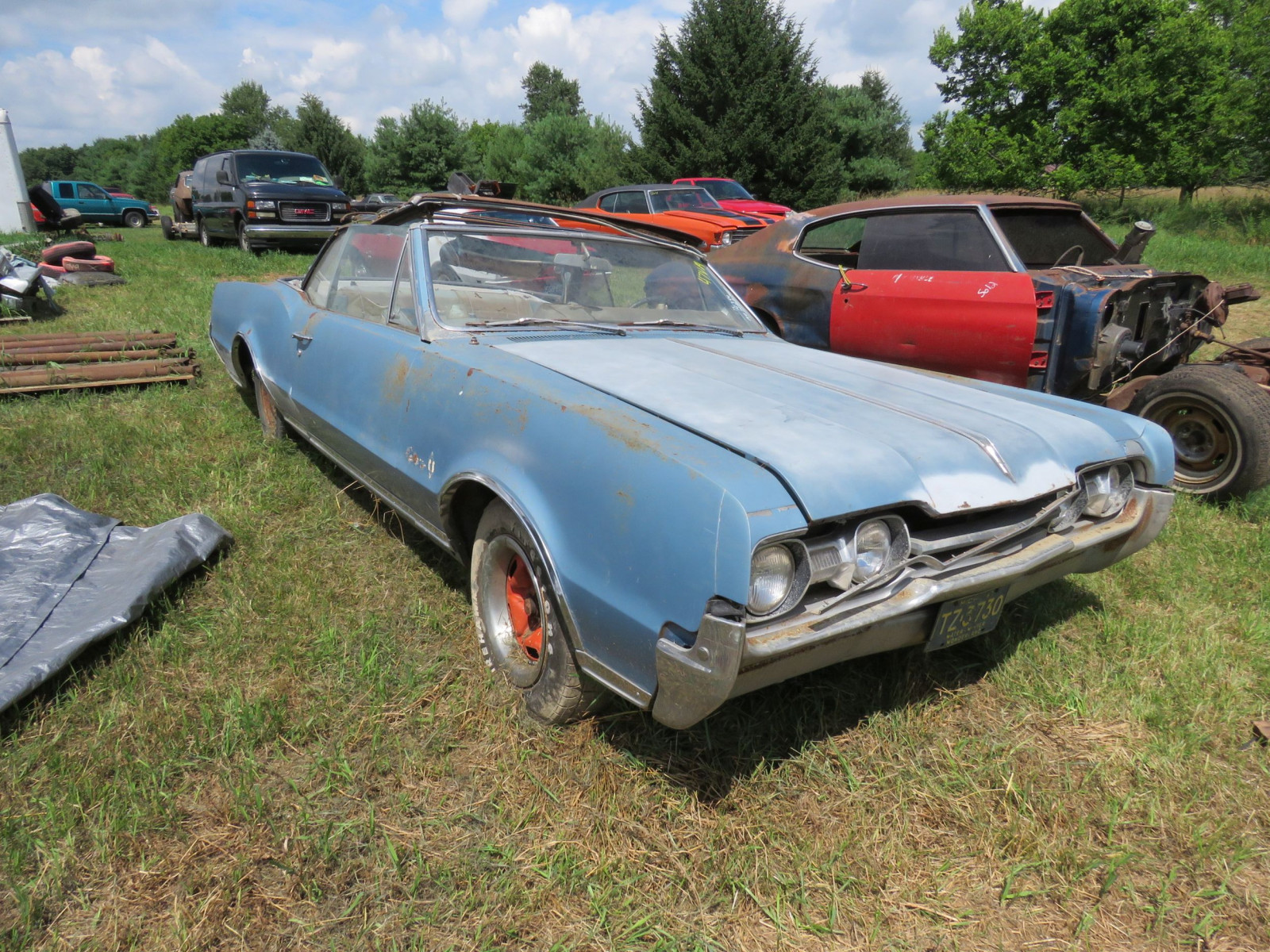 1967 Oldsmobile Cutlas Convertible Parts Car - Image 3