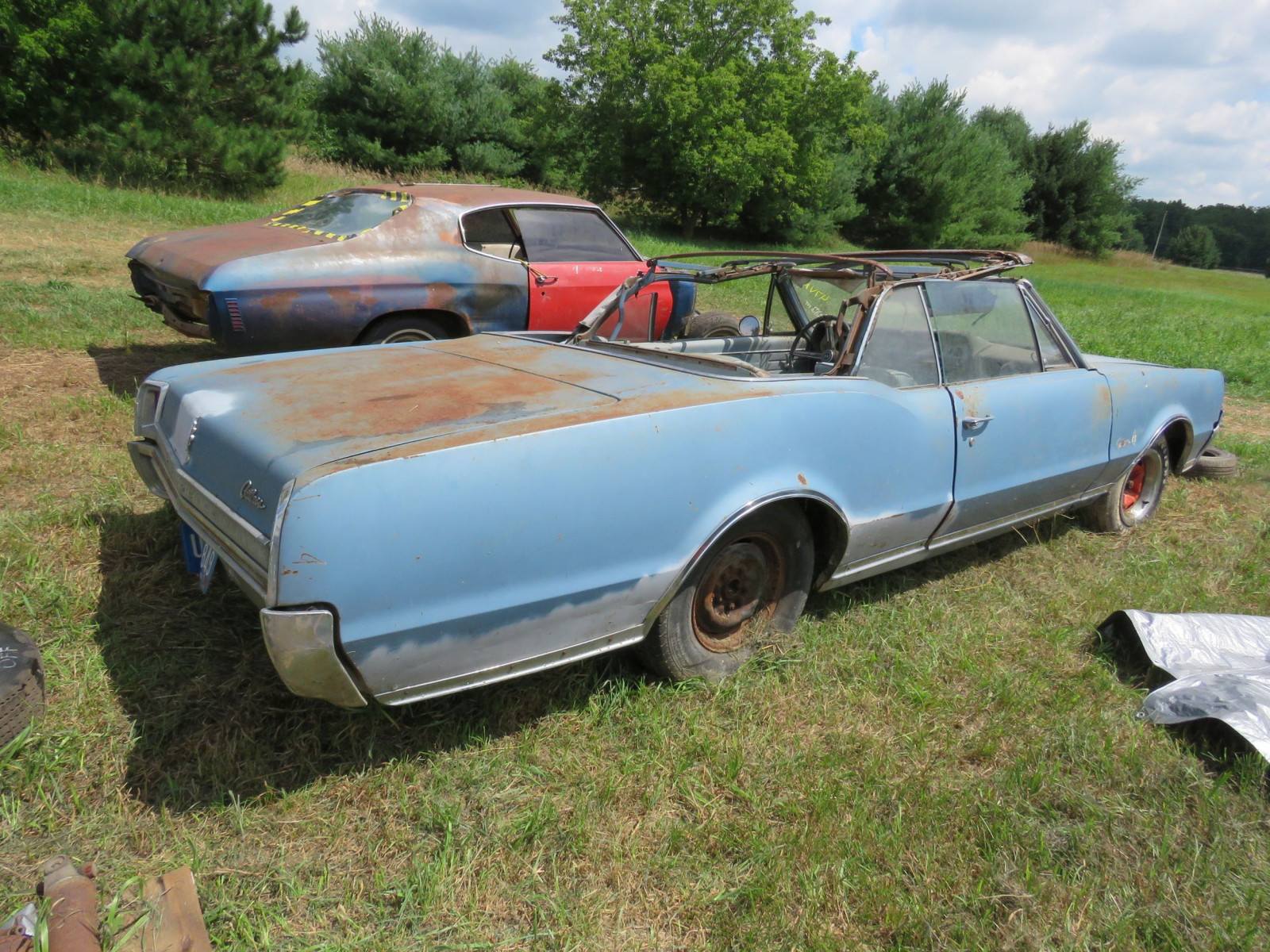 1967 Oldsmobile Cutlas Convertible Parts Car - Image 4