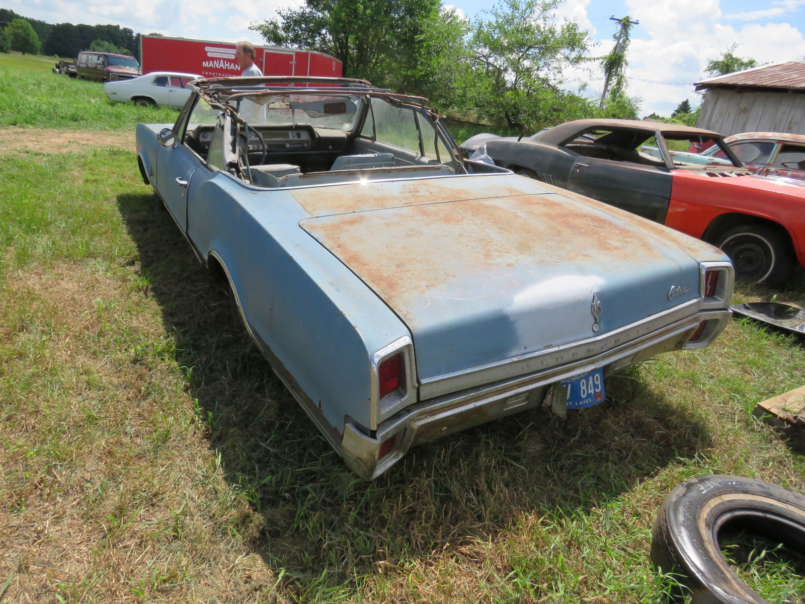 1967 Oldsmobile Cutlas Convertible Parts Car - Image 5