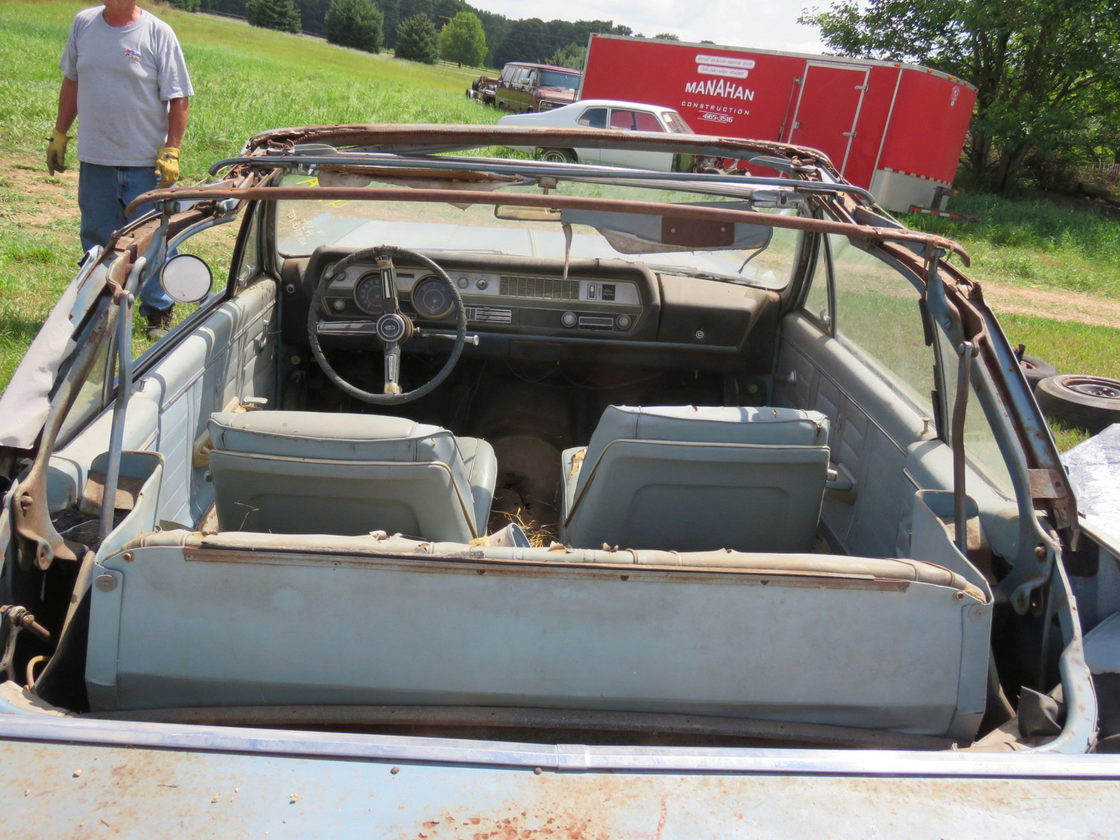 1967 Oldsmobile Cutlas Convertible Parts Car - Image 6