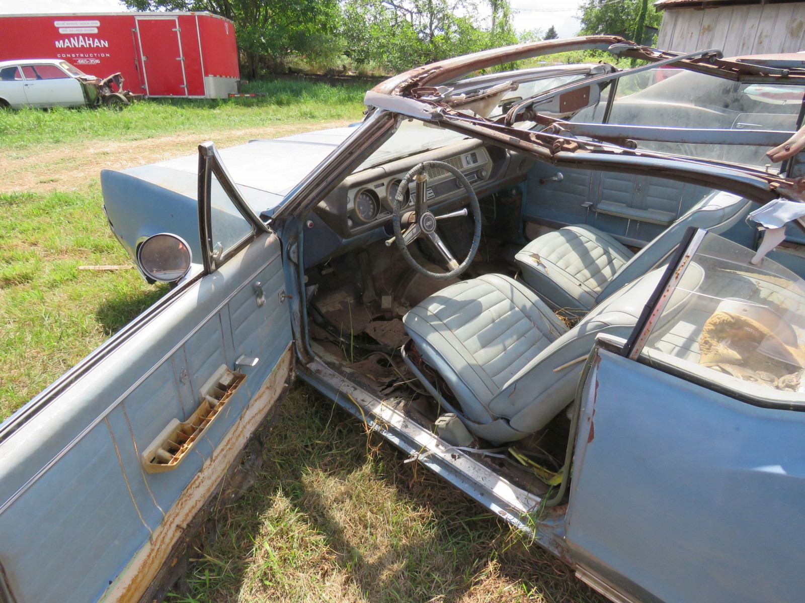 1967 Oldsmobile Cutlas Convertible Parts Car - Image 8