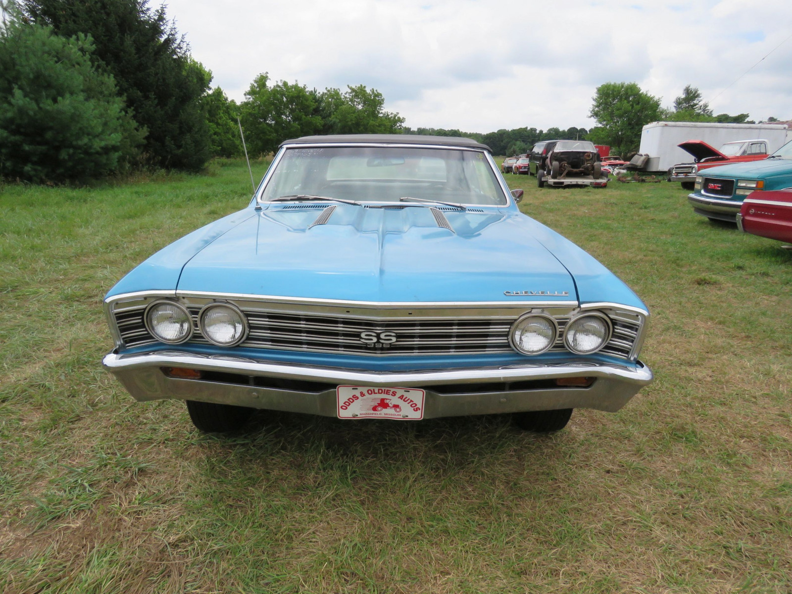 1967 Chevrolet Chevelle SS Convertible - Image 2