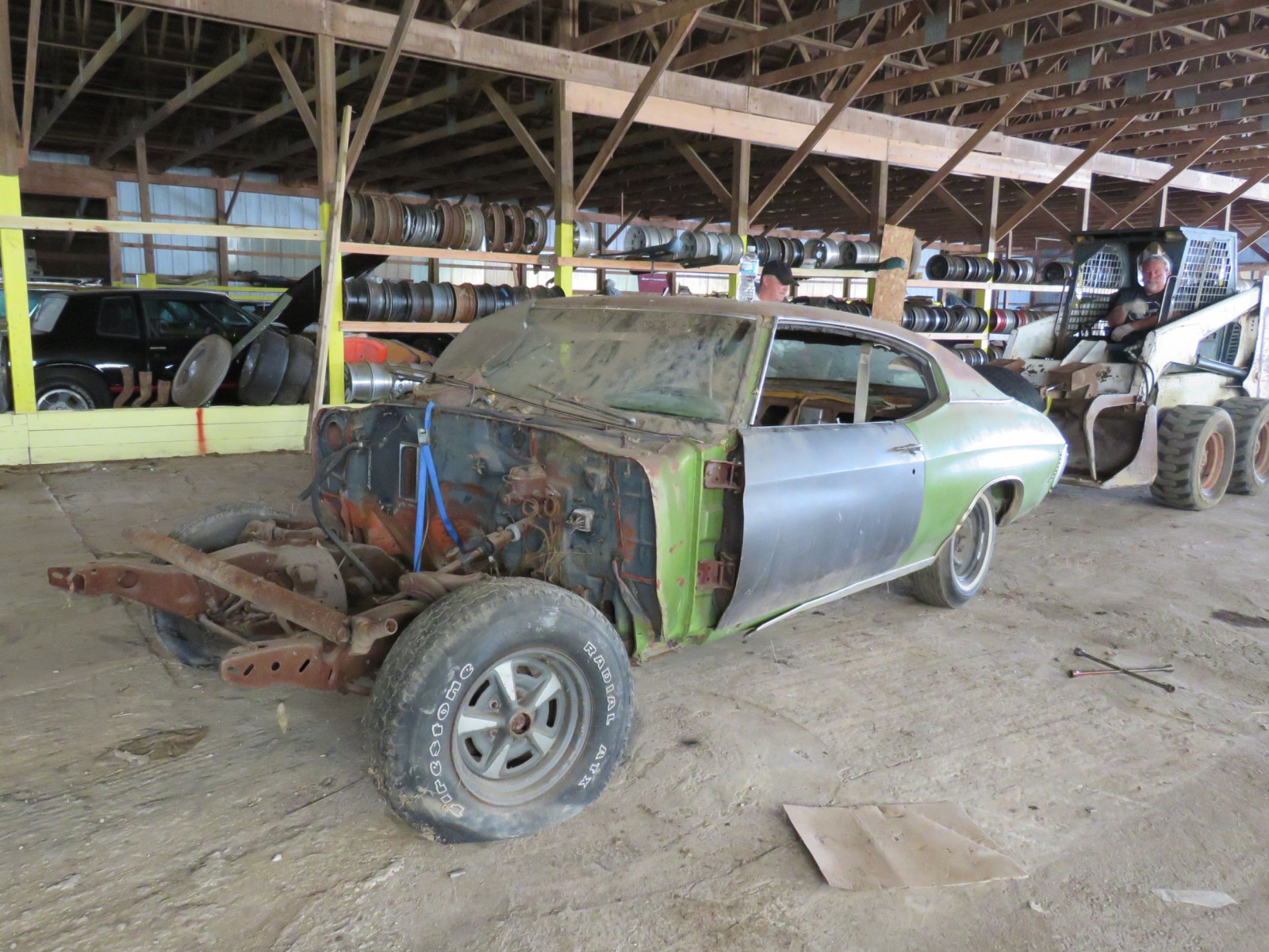 1971 Chevrolet Chevelle Rolling Body for Project - Image 1