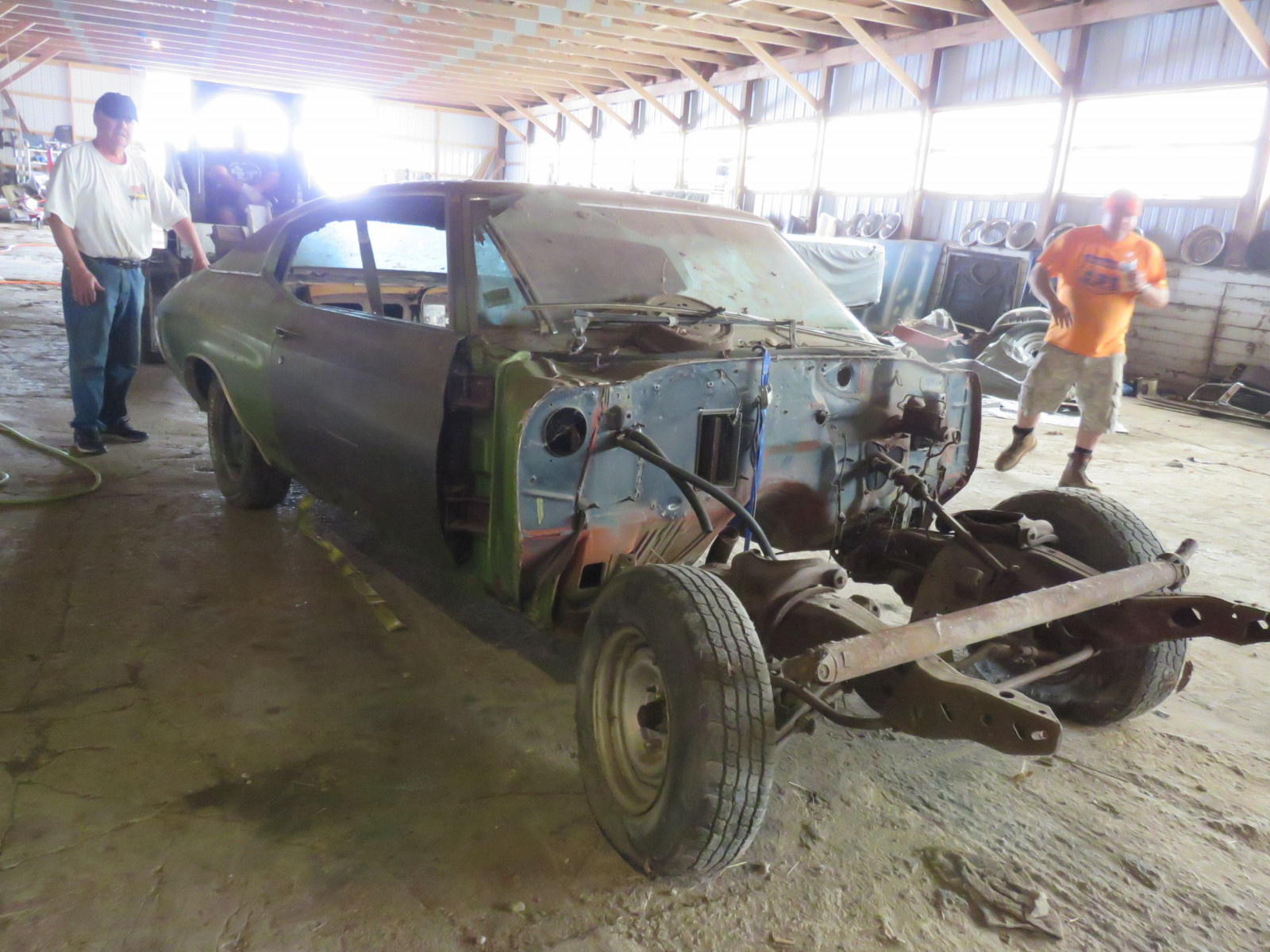 1971 Chevrolet Chevelle Rolling Body for Project - Image 3