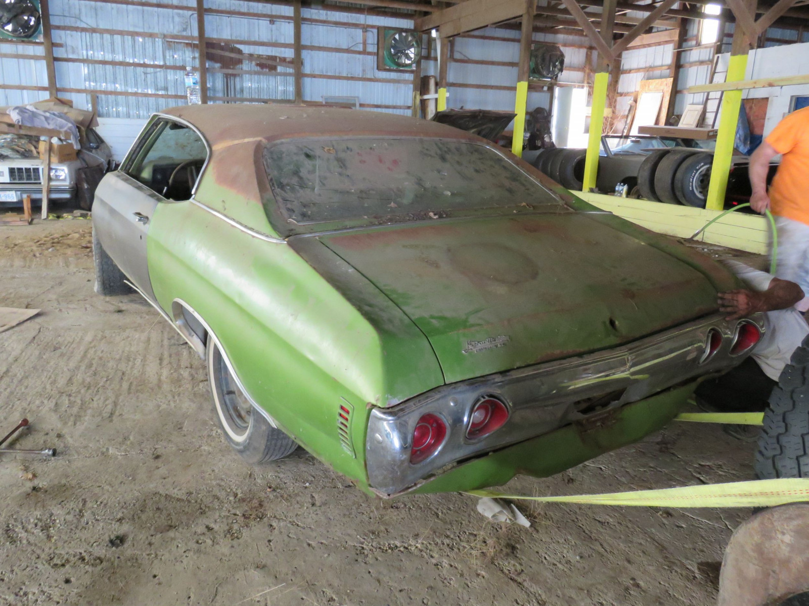 1971 Chevrolet Chevelle Rolling Body for Project - Image 5