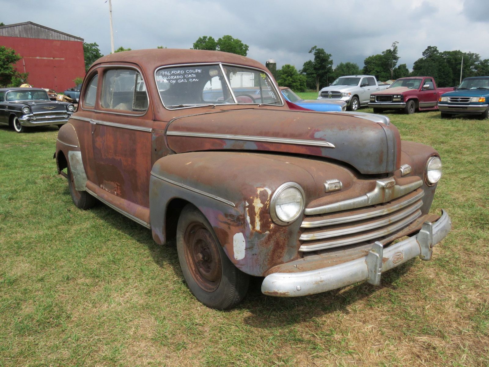 1946 Ford Super Deluxe Coupe Ford for Rod or Restore - Image 3