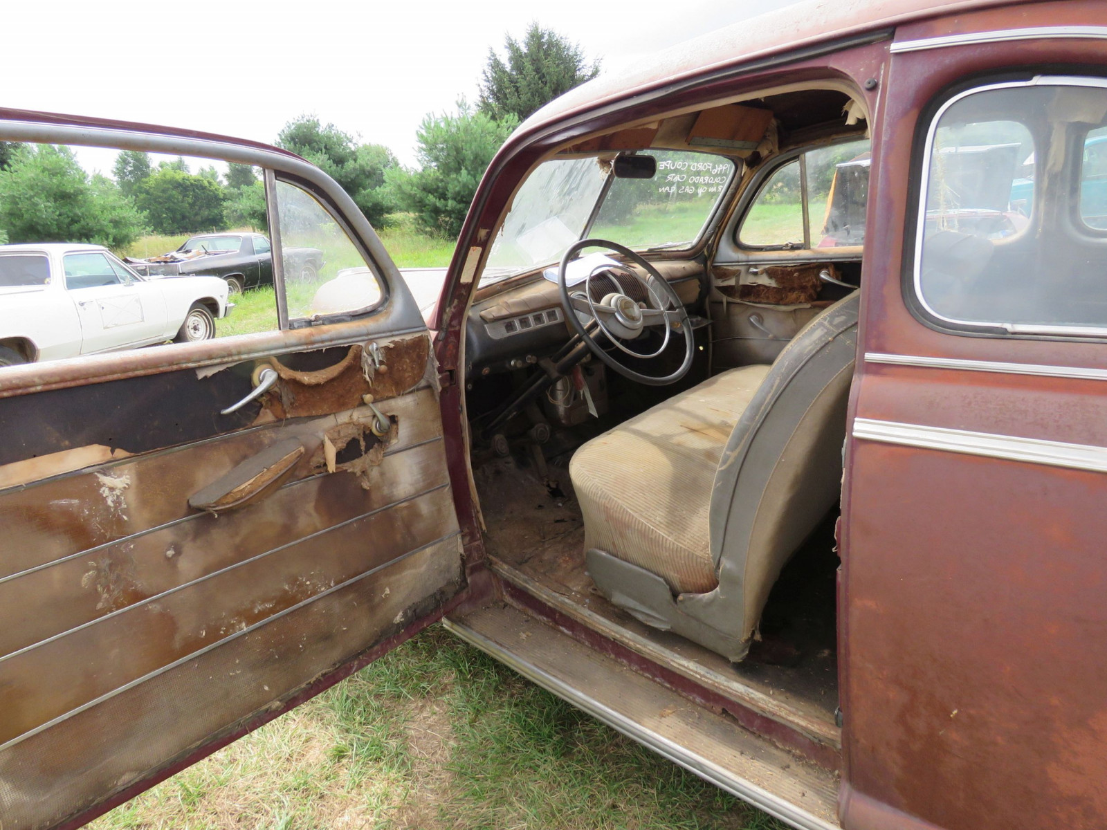 1946 Ford Super Deluxe Coupe Ford for Rod or Restore - Image 6