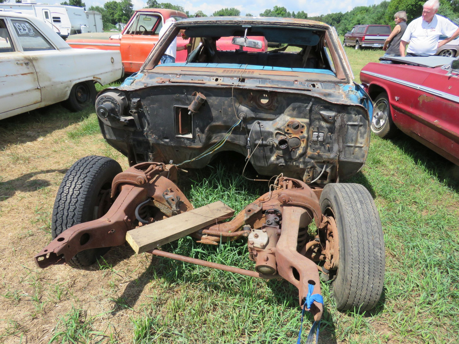1969 Chevrolet Chevelle Rolling Body for Project or Parts - Image 2