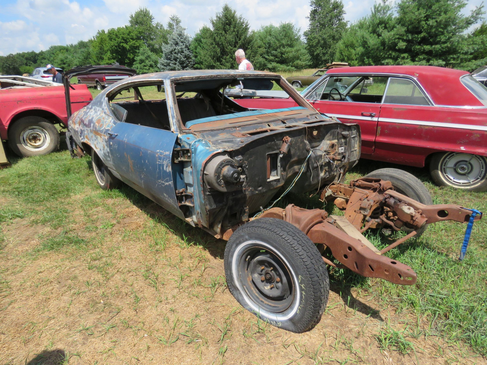 1969 Chevrolet Chevelle Rolling Body for Project or Parts - Image 3