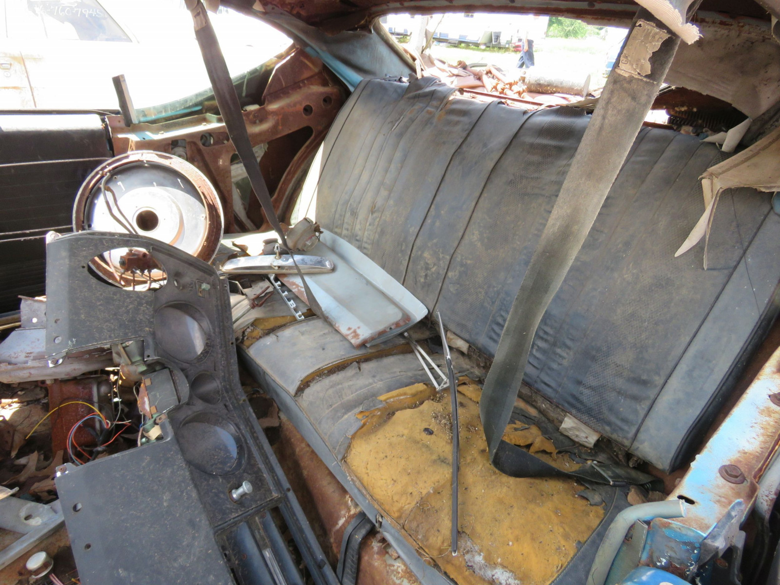 1969 Chevrolet Chevelle Rolling Body for Project or Parts - Image 8