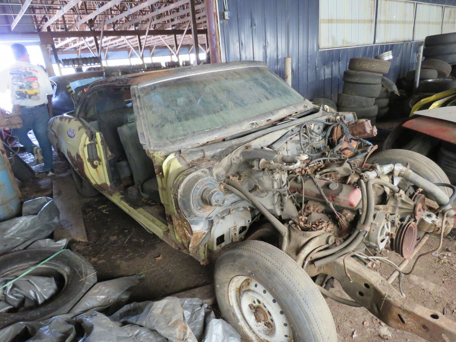 1972 Chevrolet Chevelle Convertible for Project or Parts - Image 1