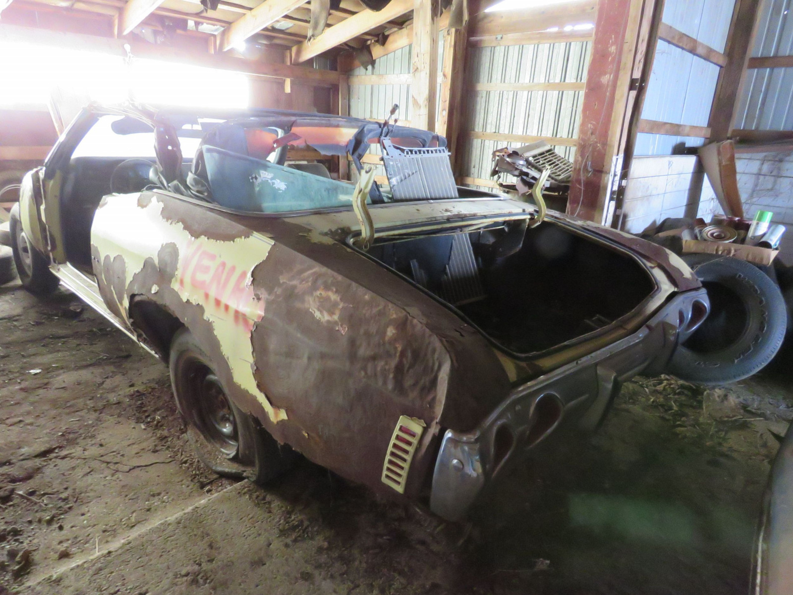 1972 Chevrolet Chevelle Convertible for Project or Parts - Image 5