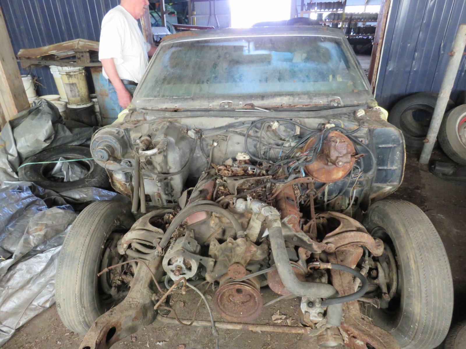 1972 Chevrolet Chevelle Convertible for Project or Parts - Image 7