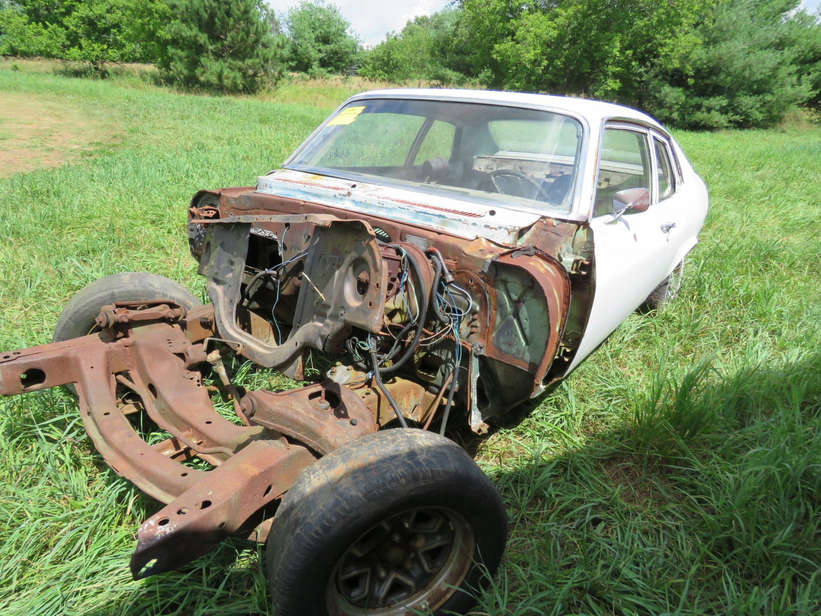 1973 Chevrolet Nova Body for Restore or Parts - Image 1
