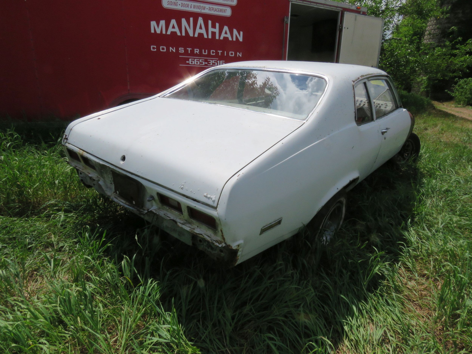 1973 Chevrolet Nova Body for Restore or Parts - Image 4