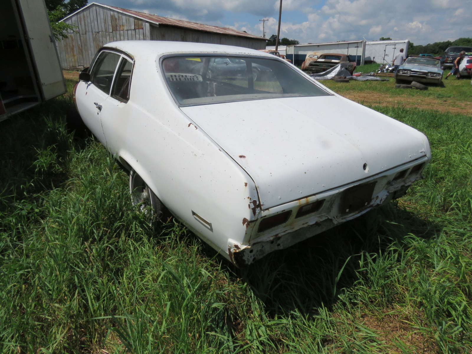 1973 Chevrolet Nova Body for Restore or Parts - Image 5