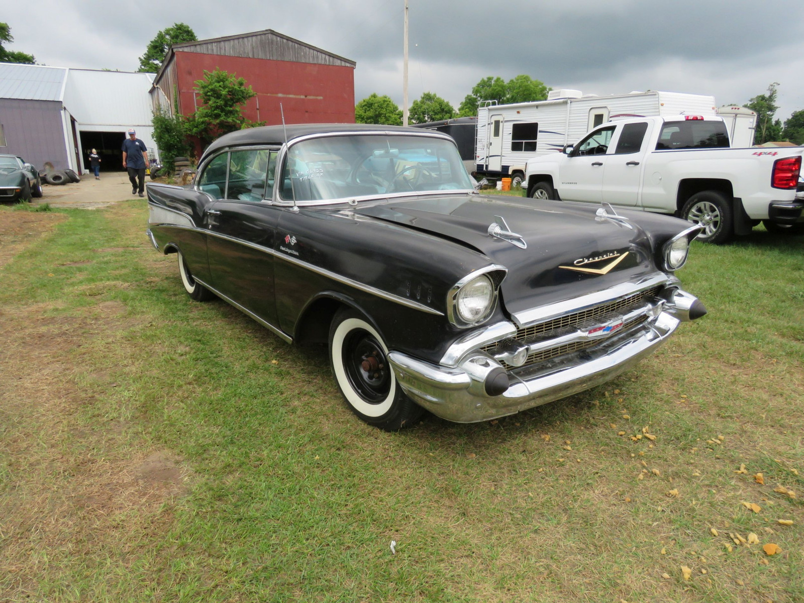 1957 Chevrolet Belair Fuel Injected 2dr HT - Image 3