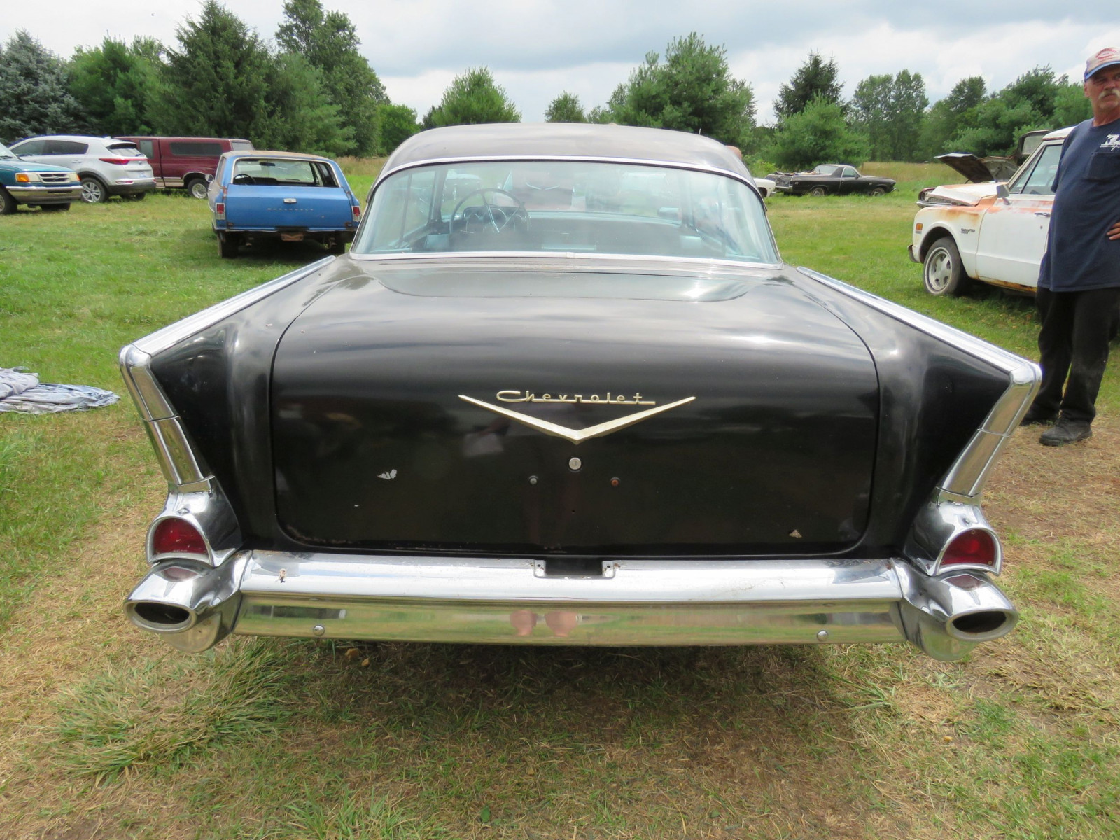 1957 Chevrolet Belair Fuel Injected 2dr HT - Image 6