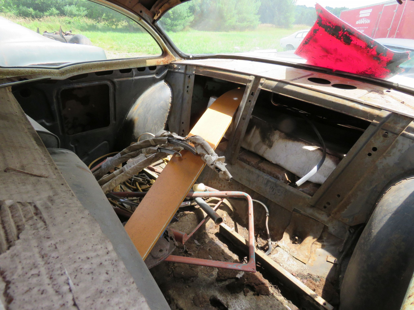 1957 Chevrolet 2dr Sedan for Rod or Restore - Image 7