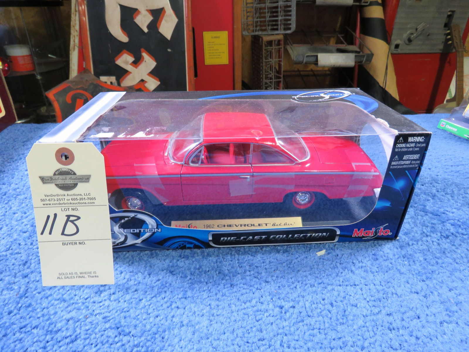 1962 Chevrolet Belair Diecast Toy - Image 1