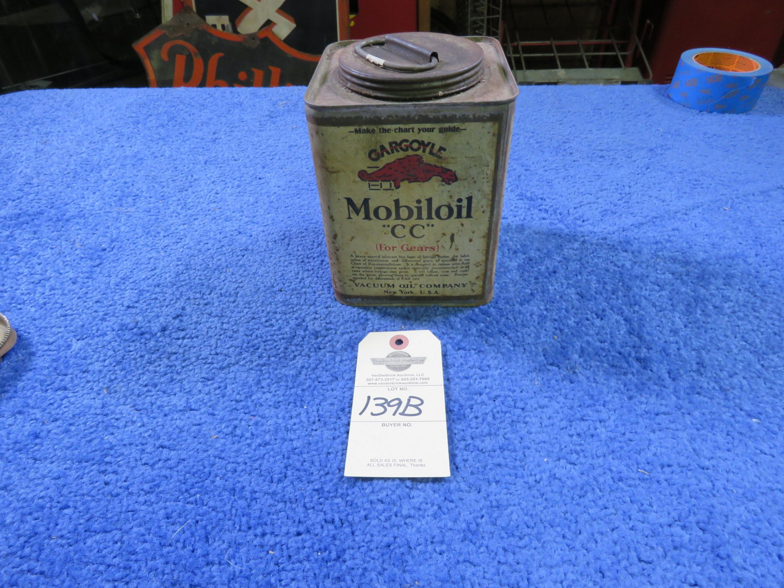 Mobil Oil CC Gear Oil Canister - Image 1